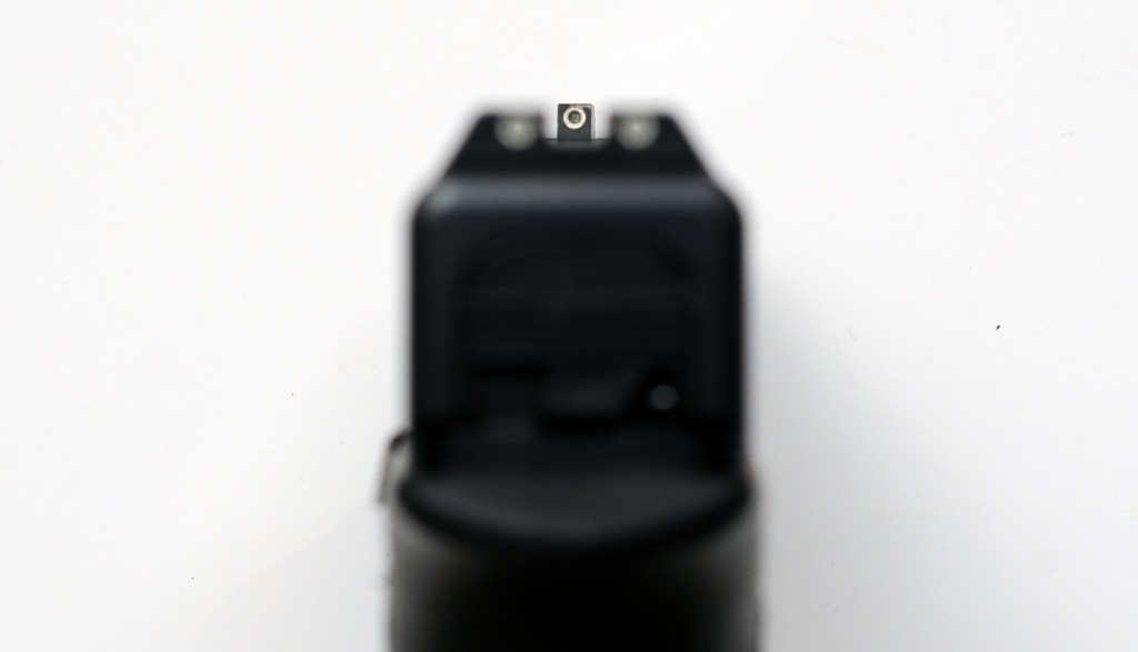 Glock 19 Trijicon Night Sights Front