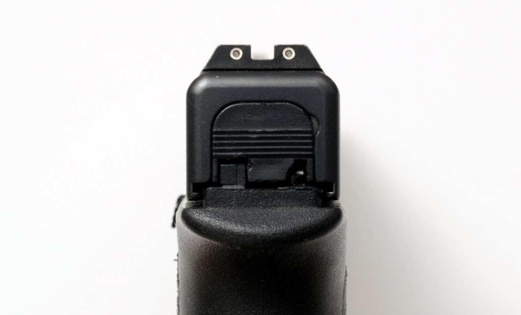 Glock 19 Trijicon Night Sights Rear